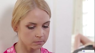 MOMMY'S GIRL - Stepmom is jealous of the hot maid - Sarah Vandella, Adria Rae and Christie Stevens