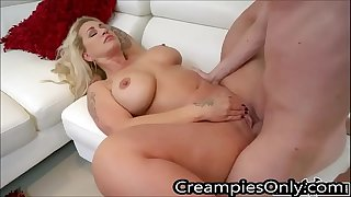 Step Mother Gets Fucked Hard And Creampied