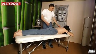 German Mature Wifey gets Fucked by the Masseur