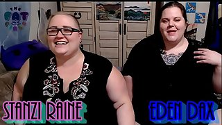 Zo Podcast X Presents The Fat Squealing Podcast Hosted By:Eden Dax & Stanzi Raine Episode 1 pt 1