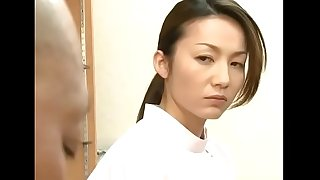 Japanese masseur wife pays the husband's debt