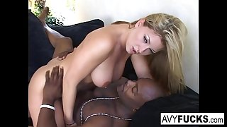 Avy Scott has another chubby of fun with Nat Turner