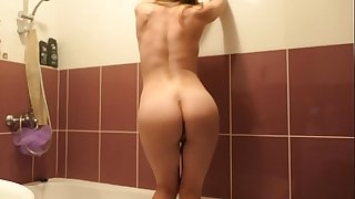 Bathroom sex with anal