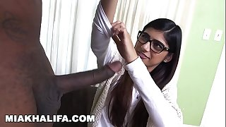 MIA KHALIFA - Rico Strong Gives Mia Her Highly First Big Black Cock