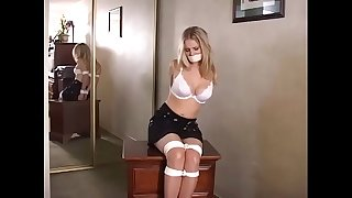 Ginger Lee Held Captive in Motel - Bound, Gagged, Lanky