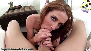Petite dickblowers Sheena Shaw likes to be stretched by a big cock